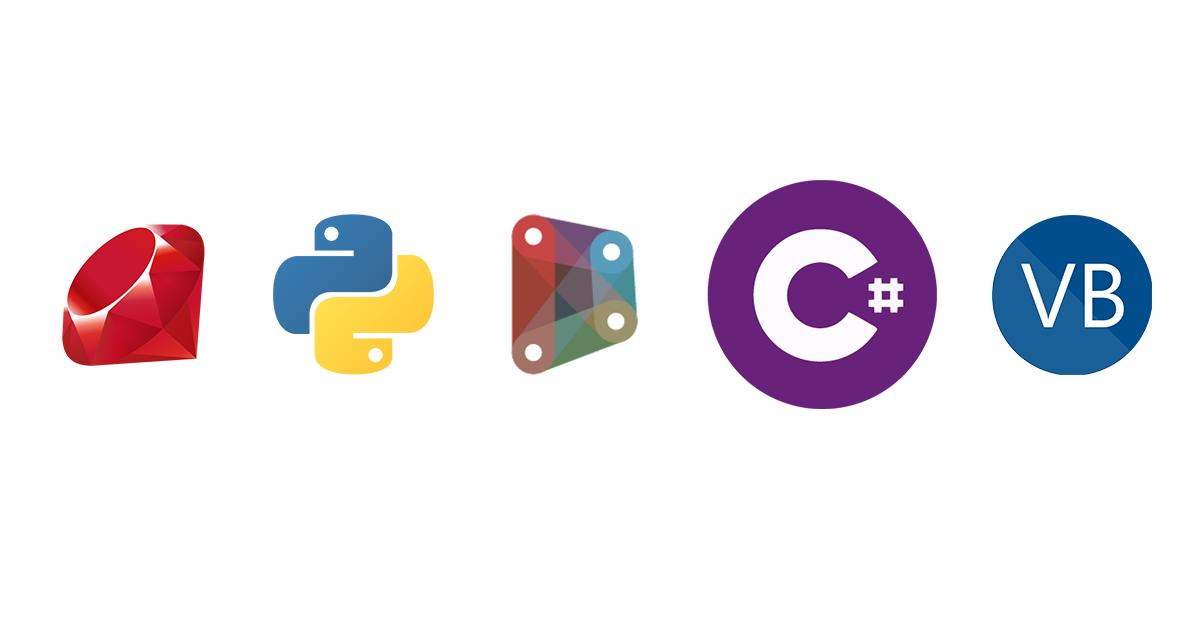 Programming Languages Logos