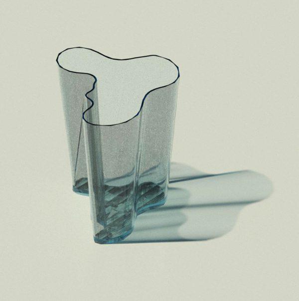 BIMicon_Aalto Vase 3D Rendered