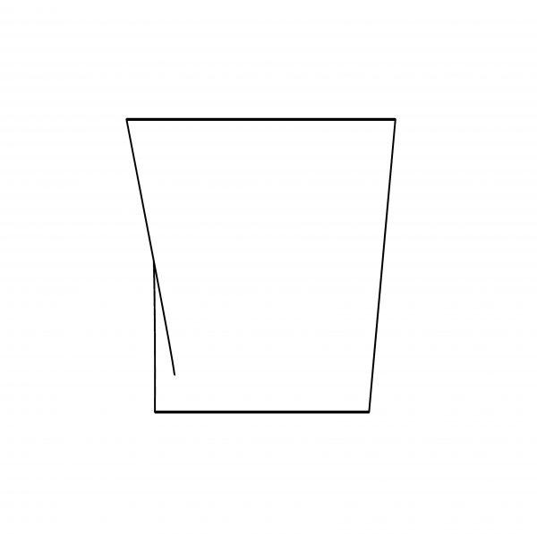 BIMicon_Aalto Vase Elevation Hidden Line