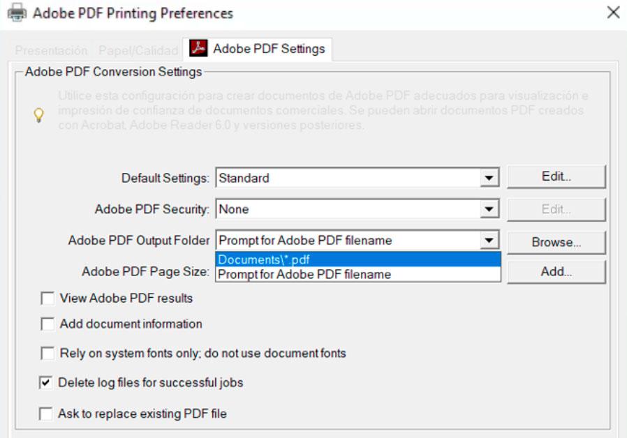 Batch Print Adobe Config