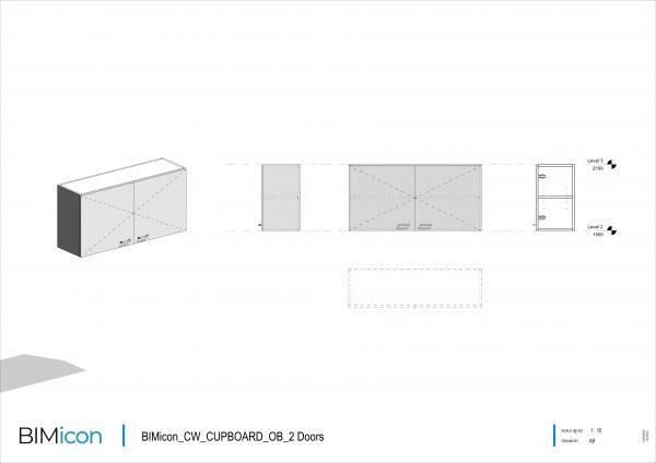 BIMicon_CW_CUPBOARD_OB_2 Doors